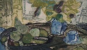 Ruth Kerkovius 1921 - Still Life With Fruits Feeling Of Autumn