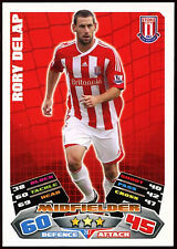 Rory Delap Stoke City #247 Topps Match Attax Football 2011-12 Trade Card (C208)