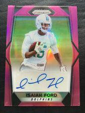 2017 Prizm Pink Prizm Autograph Isaiah Ford Auto DOLPIHNS