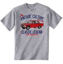 VINTAGE RUSSIAN CAR MOSKVICH 412 INSPIRED - NEW COTTON T-SHIRT