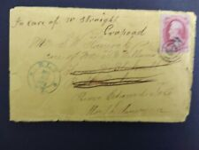 Vermont: Ely (#1) 1873 Cover to Prince Edward Island, Blue Ornamted Cds, Dpo