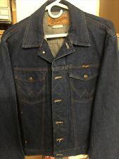 Vtg Nos Wrangler 100% Cotton Denium Jacket. Charlie Daniels Edition Awesome!
