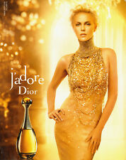 Charlize Theron~Print Ad~ J'adore Dior ~Sexy!! (Not Product) (120313)