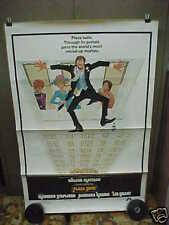PLAZA SUITE, orig 1-sh / movie poster [Walter Matthau; Neil Simon]