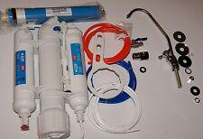 3 Levels Reverse Osmosis System Water Tap Mobile Water Filter Membrane Aquarium