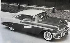 "12 By 18"" Black & White Picture 1956 Chevrolet 2 door Hardtop"