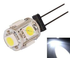 G4 Bianco 5 LED 5050 SMD 360 GRADI Auto Governo del LED 12V Super Bright