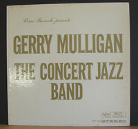 Gerry Mulligan 1961 Verve Stereo LP Concert Jazz Band Bob Brookmeyer Gene Allen