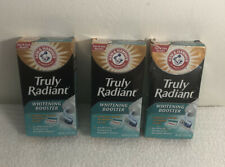 Arm & Hammer Truly Radiant Whitening Booster 2.5 oz. Lot Of Three