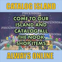 Updated Treasure Island Animal Crossing 1|2|3 HOUR Unlimited Trips Catalog