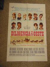 Ann-Margret Diligencia Al Oeste Spanish Norman Rockwell 27x41 Poster #L9557