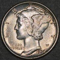 1934 Mercury Dime 10C - Gem Uncirculated - Full Bands FB