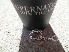 Supernatural Silver Vampire Teeth Charm True Blood fits charm bracelet