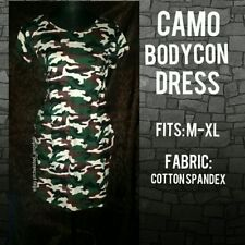 Camo Bodycon Dress [Camouflage, Fatigue Prints]