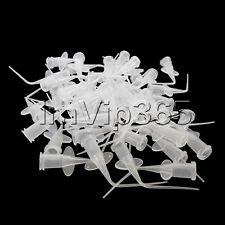 Pre-Bent Dental 50Pcs/bag Disposable syringe tip dental irrigation tips Pure