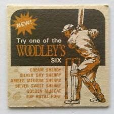 New listing New! Woodley's Six Cream Silver Dry Sweet Amber Sherry Muscat Coaster (B271-224)