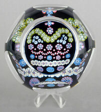 Whitefriars Glass LE 1977 Silver Jubilee Of HM Queen Millefiori Paperweight