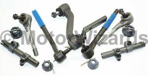 Front End Steering Rebuild Kit Tie Rod Ends+Idler Arm 68-69 Camaro+Nova 68-74