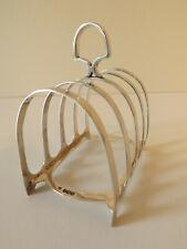 More details for vintage sterling silver toast rack hallmarks for sheffield 1954 j.deakin & sons