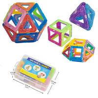 50Pcs Magnetic Building Blocks Construction Children Toys Educational with Box