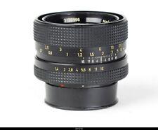 Lens Singapore  Planar 1.4/50mm Rollei HFT Black    for  Rolleiflex SL35
