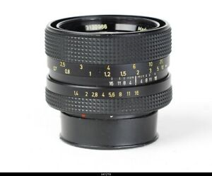 Lens Singapore  Planar 1.4/50mm Rollei HFT Black    for  Rolleiflex SL35