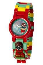 Lego Batman Movie Robin Minifigure Link Childrens Wrist Watch