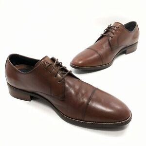 ✅❤️✅@ Cole Haan Grand OS Cap Toe 11.5 M Lenox Hill Zerogrand  Dress Shoe leather