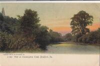 Postcard View Tuneangwon Creek Bradford PA