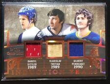 2017-18 ITG Used Induction Years SITTLER TRETIAK PERREAULT Triple Patch 11/15