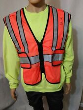 High Visability 2 Safety Vest medium and XL and 1 neon green sweater XL