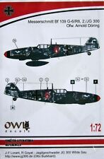 Owl Decals 1/72 stencils for Bf 109 G-6/R6 - OWLDS72009