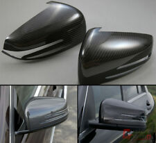 FOR 2014-18 MERCEDES BENZ CLA 250 AMG CLA43 CARBON FIBER SIDE MIRROR COVERS PAIR