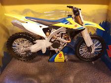 1:12 Modello Suzuki Rmz Rm-Z 450 2018 Motocross Giocattolo Bambini