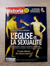 REVUE  HISTORIA  N° 864  DECEMBRE 2018  /  L'EGLISE  ET  LA  SEXUALITE