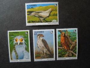 G1080   GAMBIA 1993  BIRDS    MNH