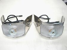 1955 55 FORD  TRUCK PARK LIGHT ASSEMBLY  STAINLESS  F100 F250  NEW