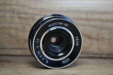 INDUSTAR-69 28mm f/2.8 USSR Wide Angle Pancake Lens M39 MMZ-LOMO Vintage