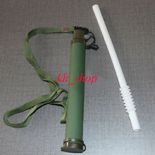 Army Green Water Filter Purifier Cleaner Pipe Outdoor Gear Survival Emergency