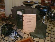 Clansman Military UK RT349 PRC349 GRADE A HAND HELD PRR RADIO STATION C/W NICAD