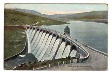 Craig Goch Dam - Rhayadar Photo Postcard 1909