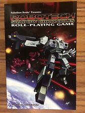 Robotech RPG: The Shadow Chronicles Soft Cover