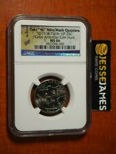 2019 W 25C WAR IN THE PACIFIC GUAM QUARTER NGC MS66 GREAT AMERICAN COIN HUNT