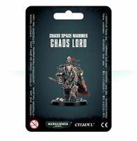 Chaos Lord Chaos Space Marines Black Legion Warhammer 40K NIB Blister