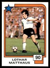 Panini Soccer Cards 1988 - Lothar Matthaus # 90