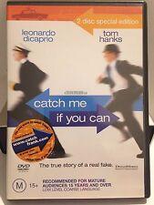 CATCH ME IF YOU CAN - LEONARDO DICAPRIO ( 2 DISC SET) (R4 - LIKE NEW) - DVD #181