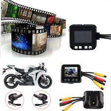 Biker's Camera C6 Motorcycle Sports Action Camera Front & Back Monitor 2 HD 720p