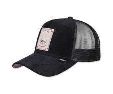 Djinns Trucker Cap HFT Corduroy Nature Black Kappe Mütze Größenverstellbar