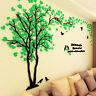 DIY 3D Acrylic Couple Tree Wall Sticker Decal Home Bedroom Living Room Art Decor