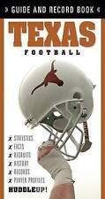 TEXAS FOOTBALL (HuddleUp!) - New Book CHRISTOPHER WAL